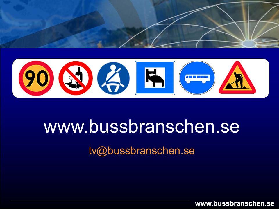 www.bussbranschen.se tv@bussbranschen.se