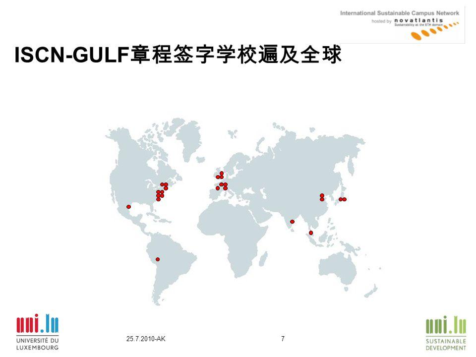 25.7.2010-AK7 ISCN-GULF 章程签字学校遍及全球