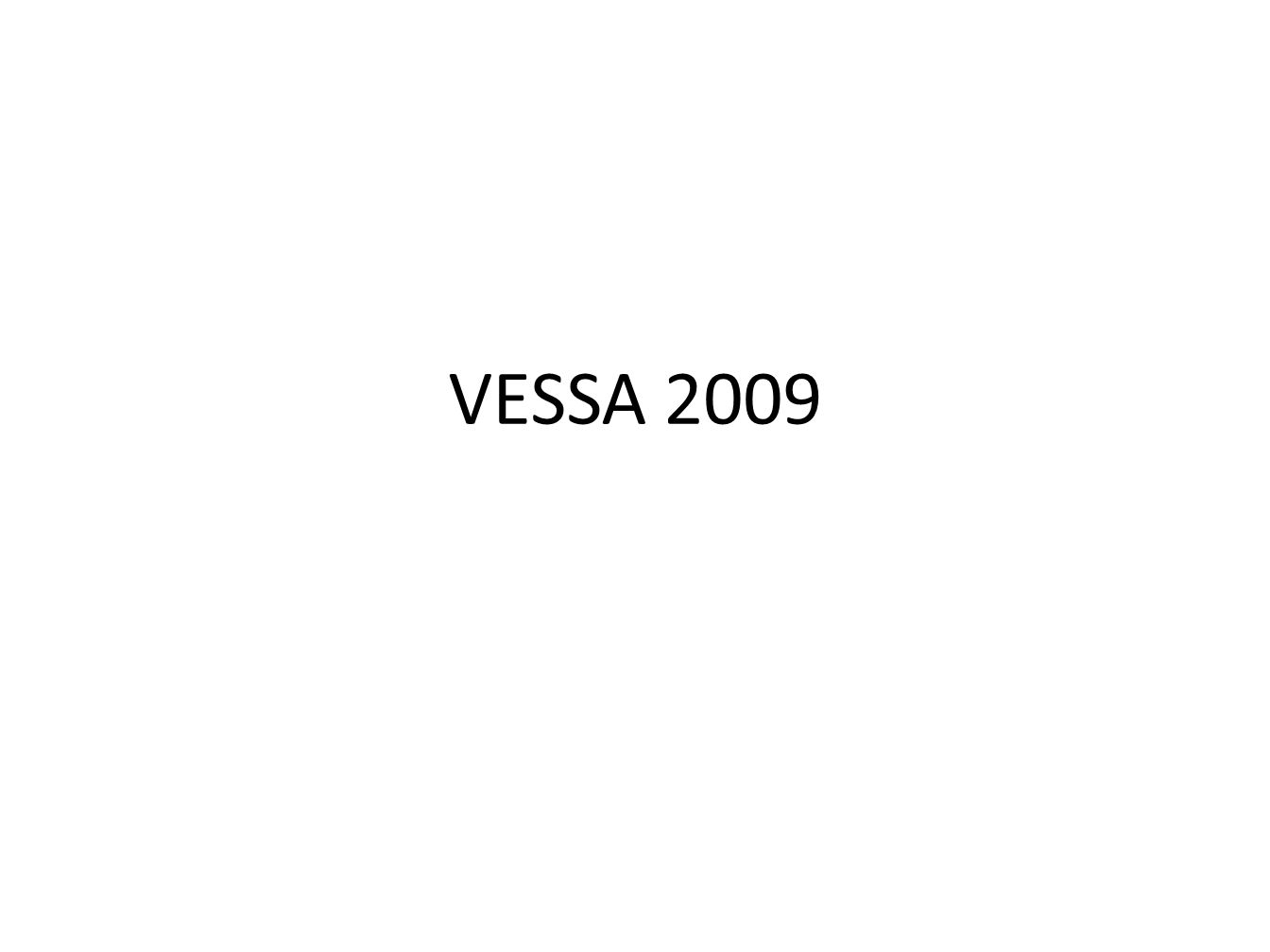 VESSA 2009