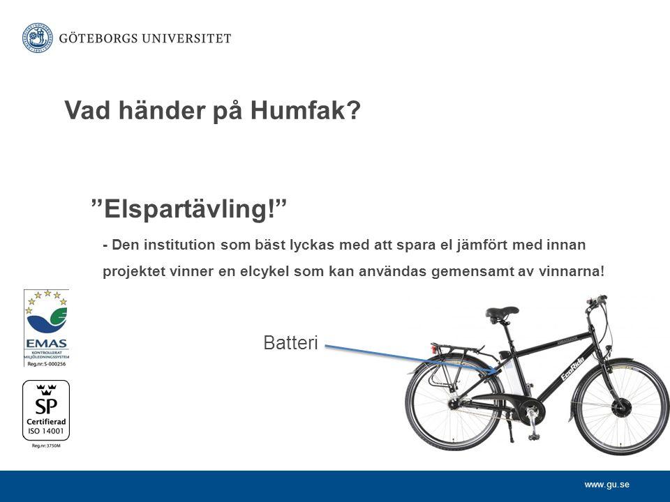 www.gu.se Vad händer på Humfak.