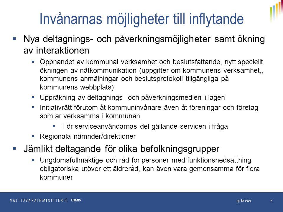 Kommunens utvärderingsförfarande 118 §  Utvärderingsförfarandet inleds enligt de nya bestämmelserna 1)Kommunen inte täckt underskottet (primärkommunens balans!) inom den utsatta tiden (obs.