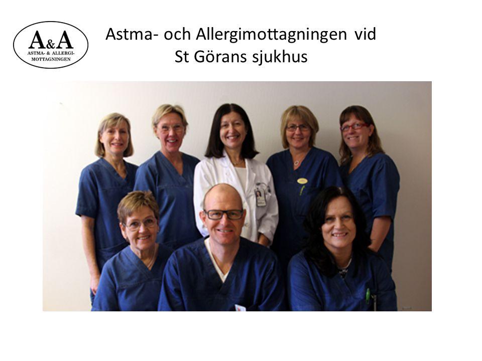 Astma- och Allergimottagningen vid St Görans sjukhus