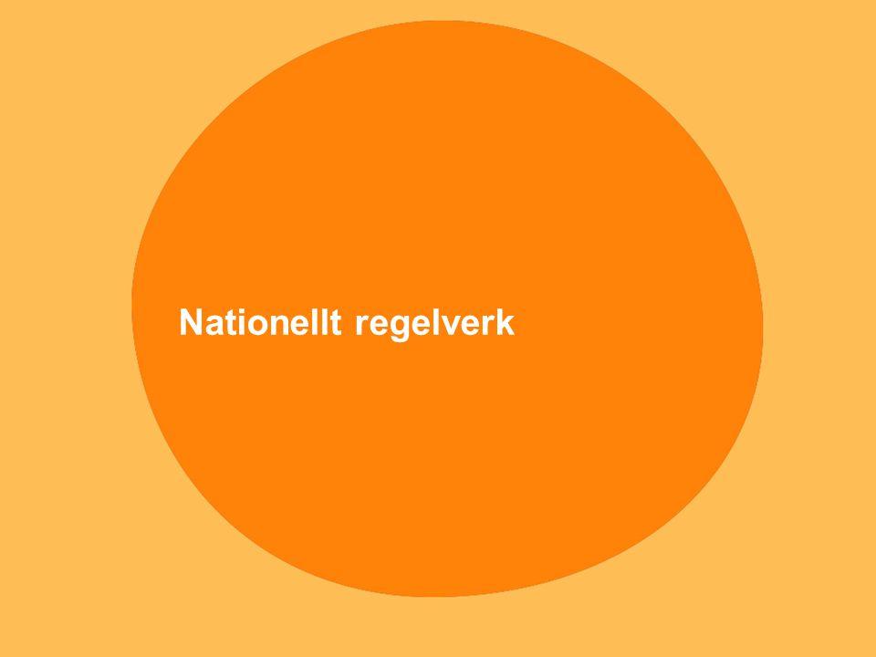Nationellt regelverk
