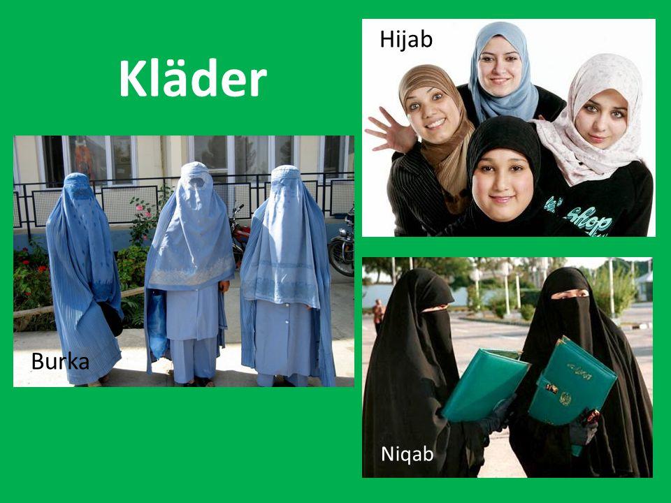 Kläder Hijab Burka Niqab