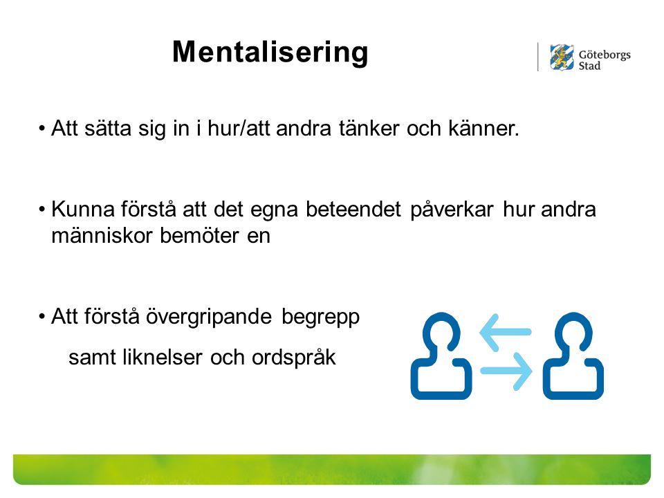 Konsekvenser Ett annorlunda sätt att tänka och uppfatta omgivningen och därmed ett annorlunda beteende Stora svårigheter att få till en fungerande vardag/ ADL (Aktiviteter i det dagliga livet) Svårt att följa överenskommelser/genomföra nödvändiga aktiviteter Självmedicinering (missbruk) KASAM (låg känsla av sammanhang) Ojämn profil Uppmärksamhets- och minnes störningar/Trötthet Utanförskap/känsla av att vara annorlunda Dålig självkänsla/att inte duga Stressbeteenden/ Negativa hanteringsstrategier/= Problemskapande beteende