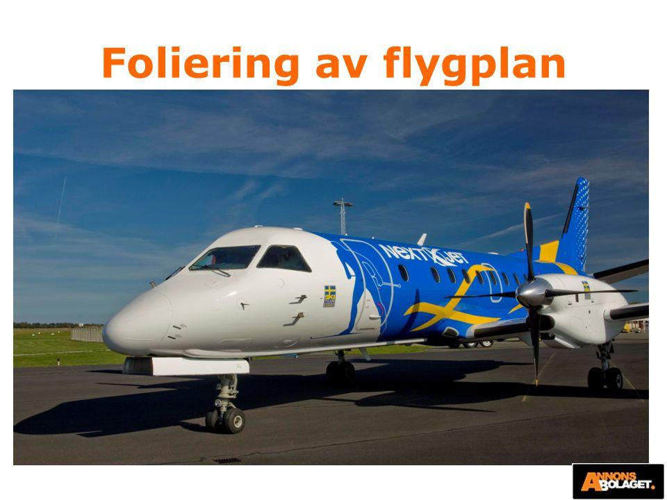 Foliering av flygplan