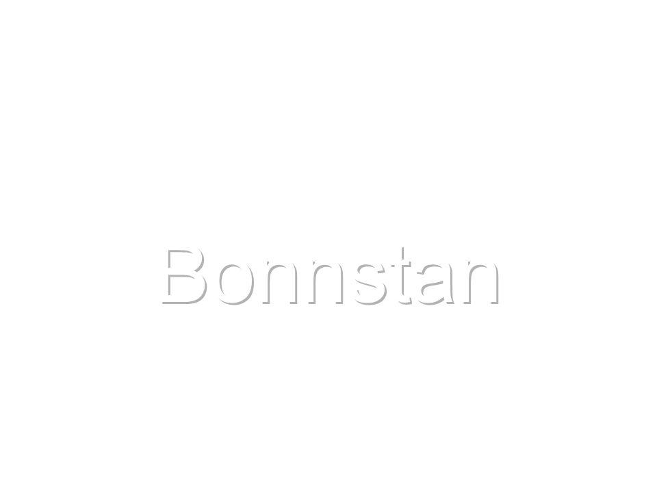 från 1600-talet och in i 2000-talet Bonnstan