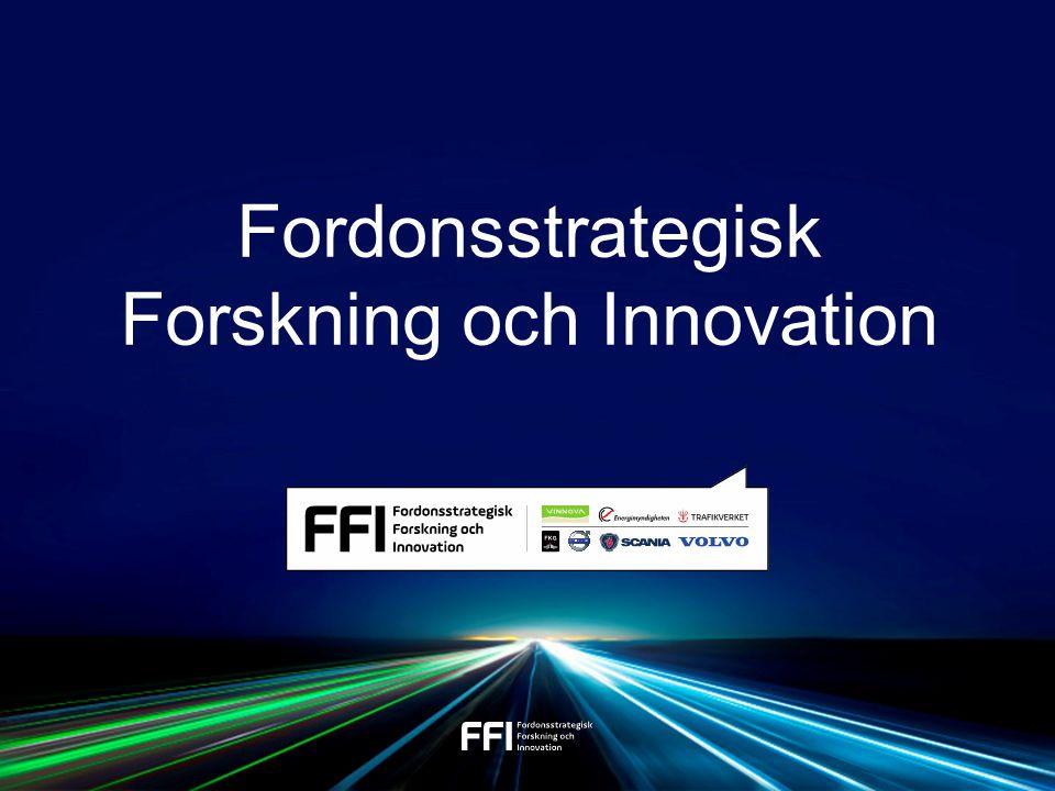 Sverige har en konkurrenskraftig fordonsindustri med ledande forskning och innovation inriktat mot säkra och miljöeffektiva transporter. VISION