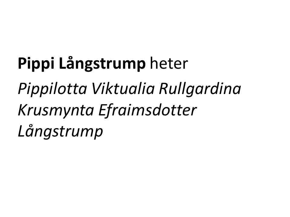 Hur Pippi kom till Vintern 1941 var Astrid Lindgrens 7-åriga dotter Karin sjuk.