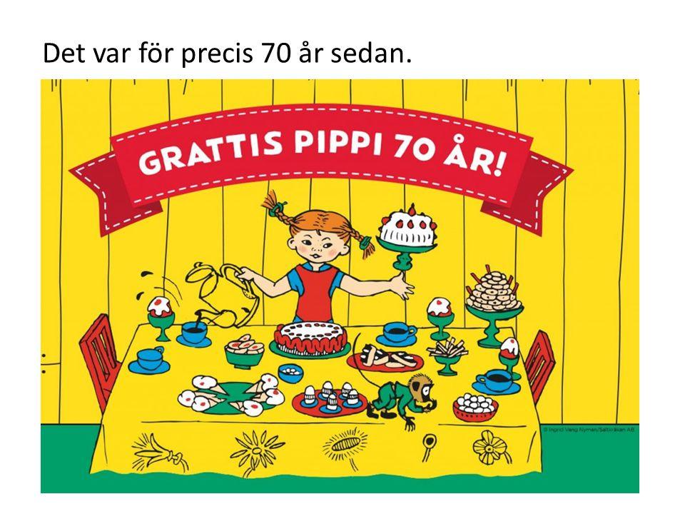 Pippi-böckerna finns översatta till 92 olika språk. [ [