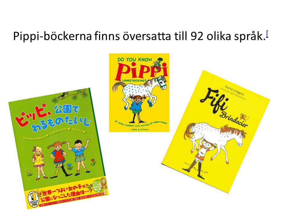 Ingrid Vang Nyman är illustratören som har målat Pippi i böckerna.