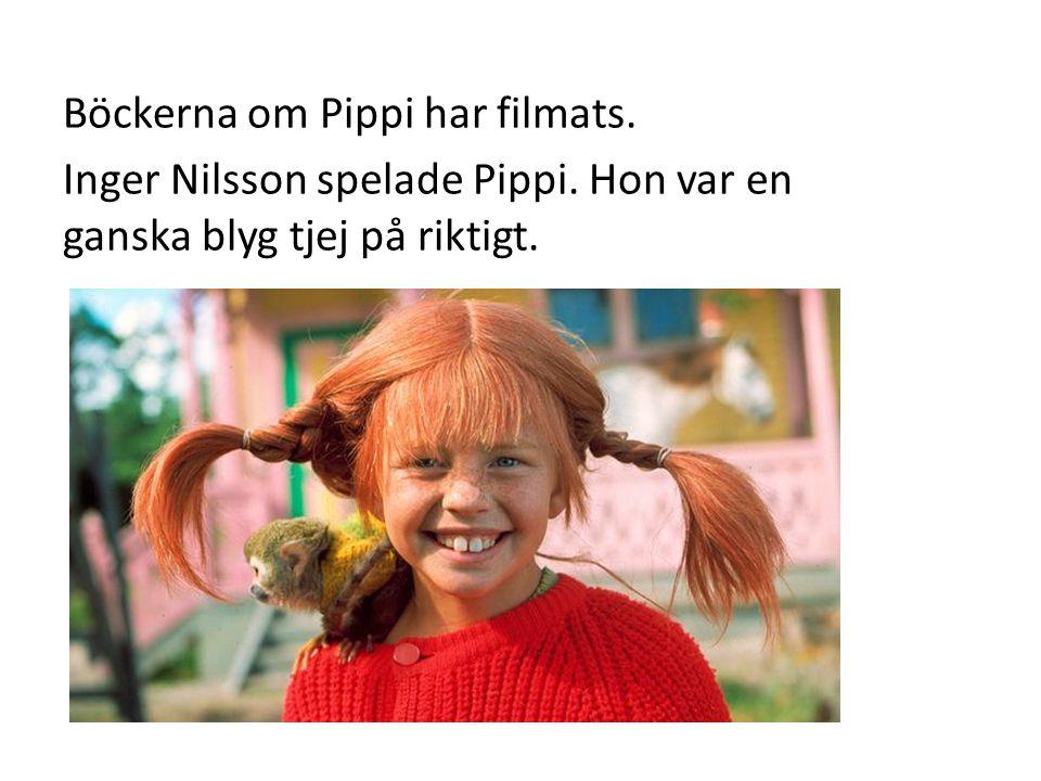 OLIKA KARAKTÄRER Pippi Långstrump är huvudpersonen.