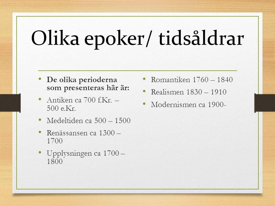 ANTIKEN Den moderna litteraturen brukar sägas ha sitt ursprung i det antika Grekland på 800-talet f.Kr.