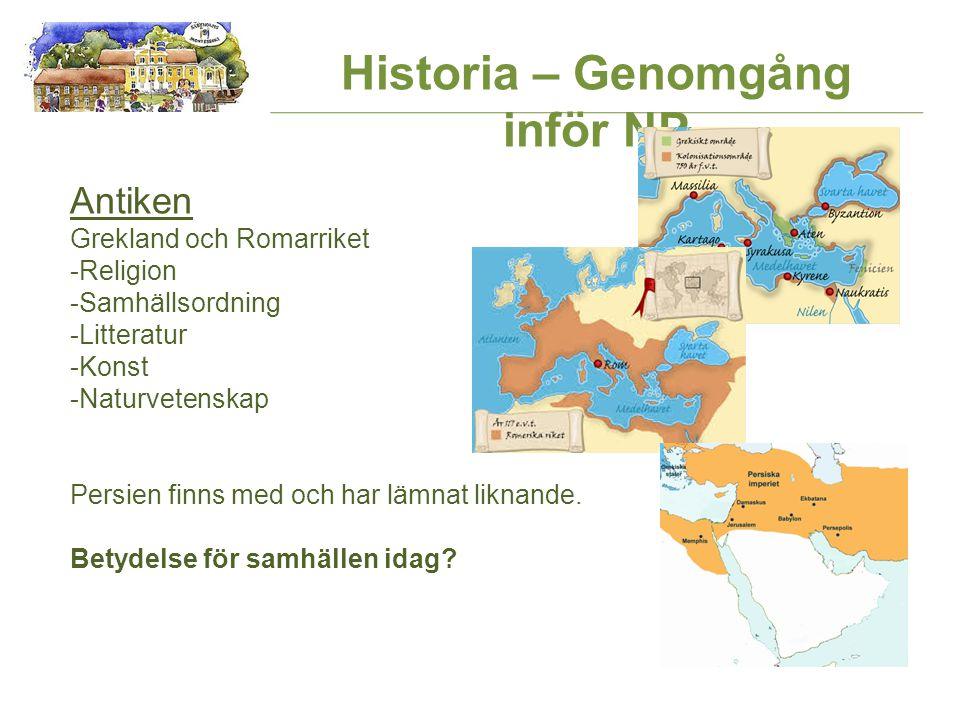 Historia – Genomgång inför NP Världshandeln -Upptäcktsresande på slutet 1400-talet början av 1500-talet Till en början Spanien och Portugal sedan också Storbritannien och Frankrike m.fl.