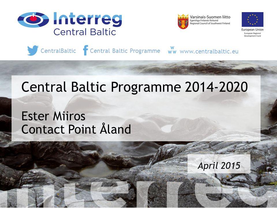 Project Team & Contact Points - vi hjälper er 12 Konsultationer på Åland 27 maj!