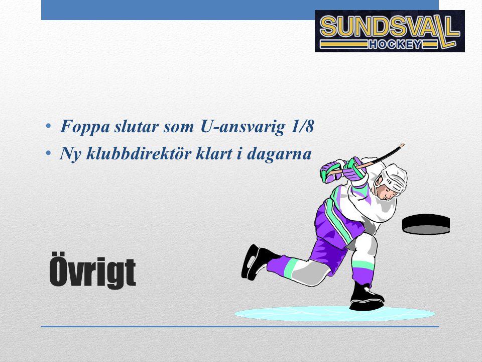 Övrigt Foppa slutar som U-ansvarig 1/8 Ny klubbdirektör klart i dagarna
