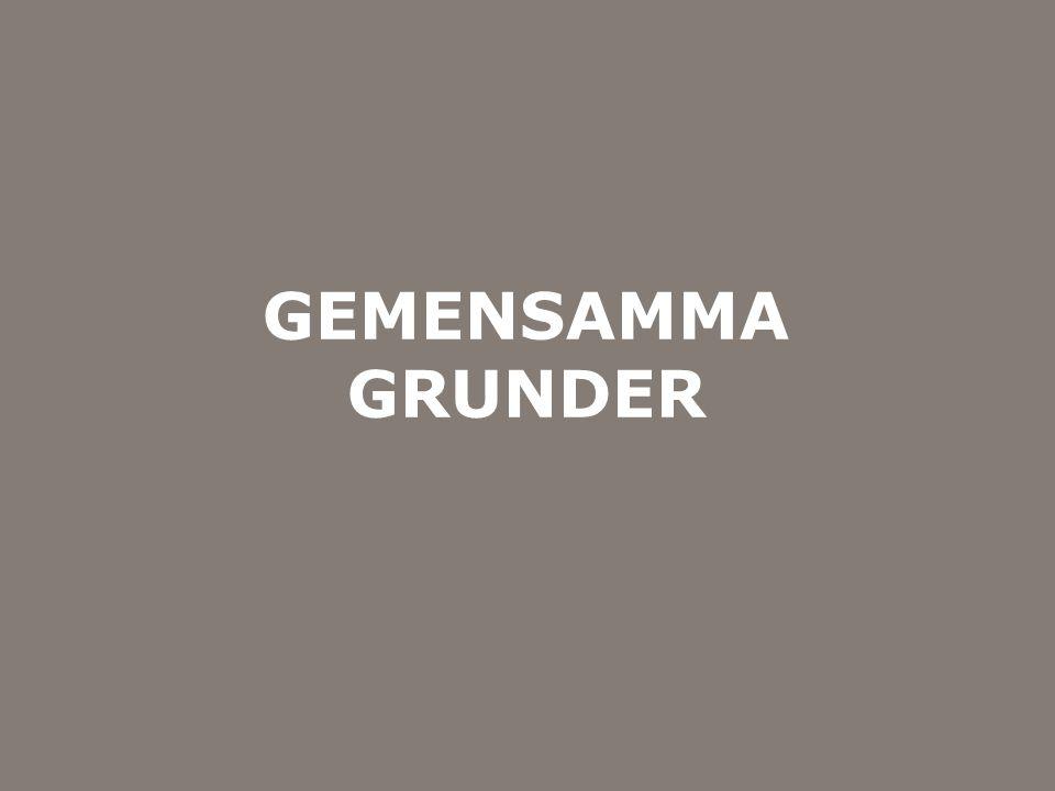 Myndigheten för samhällsskydd och beredskap GEMENSAMMA GRUNDER