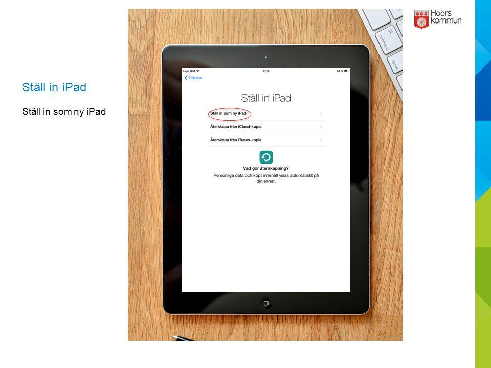 Hur man lägger till Hoormail på iPad Tryck på Mail.