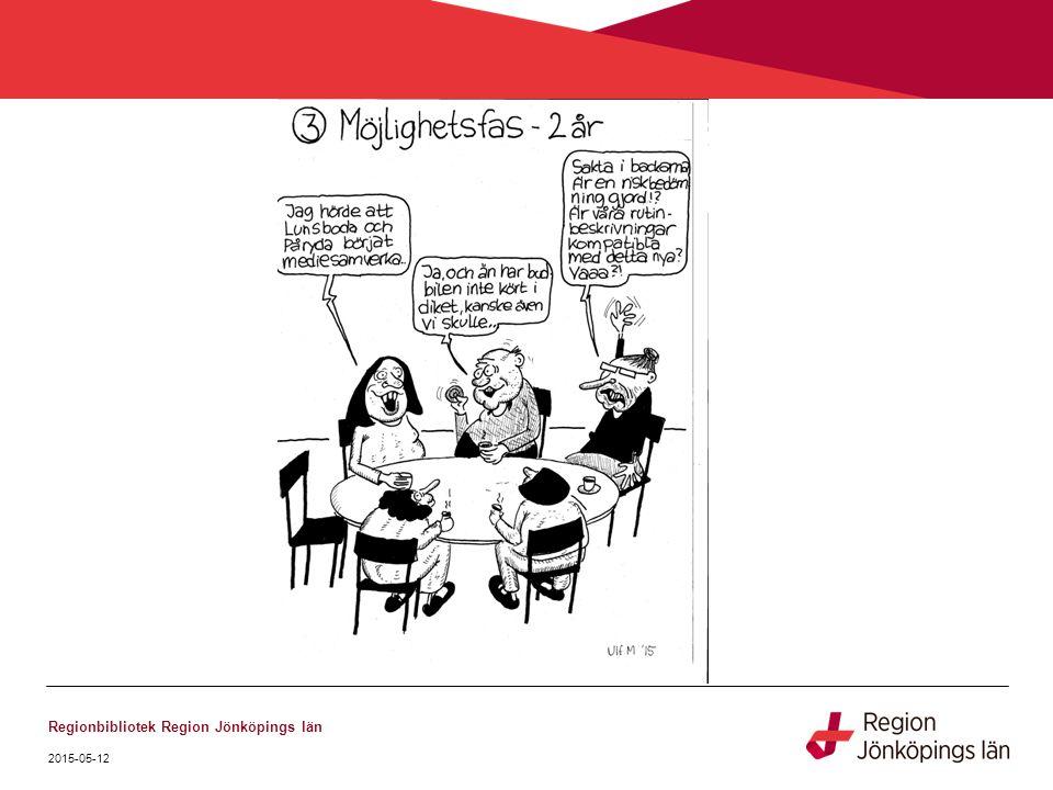 2015-05-12 Regionbibliotek Region Jönköpings län REGIONAL BIBLIOTEKSPLAN JÖNKÖPINGS LÄN 2015 - 2017