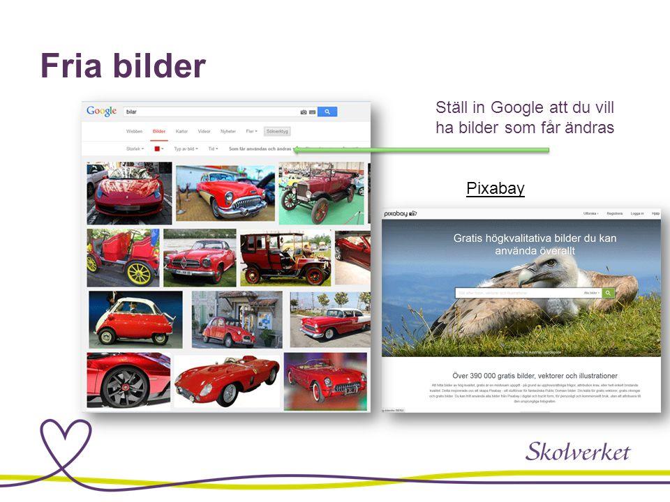 Fria bilder Pixabay Ställ in Google att du vill ha bilder som får ändras