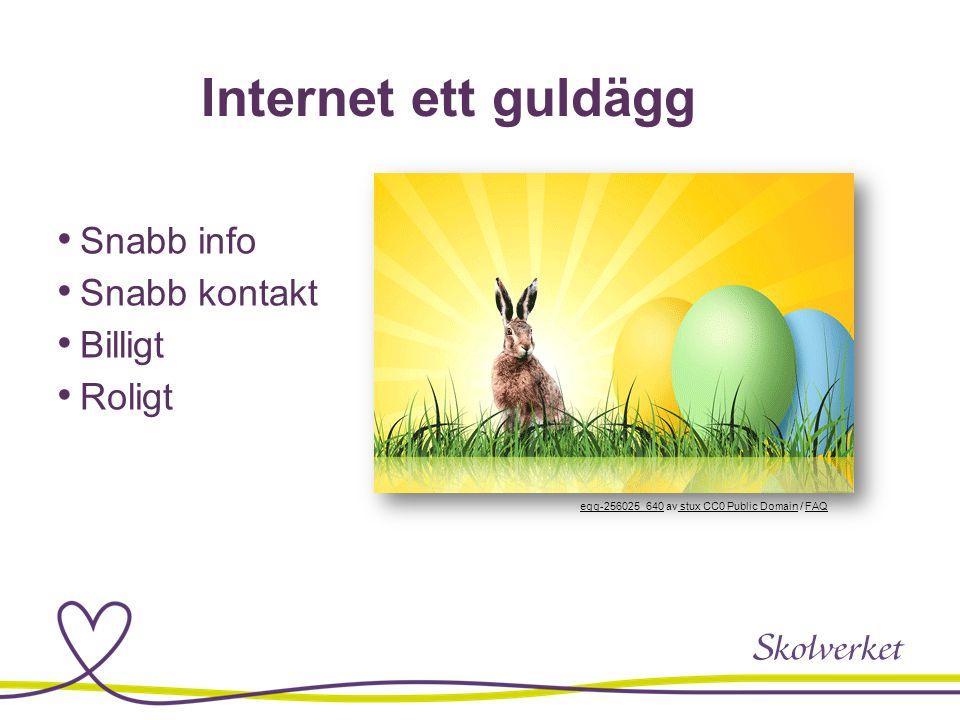Internet ett guldägg Snabb info Snabb kontakt Billigt Roligt egg-256025_640egg-256025_640 av stux CC0 Public Domain / FAQ stux CC0 Public DomainFAQ
