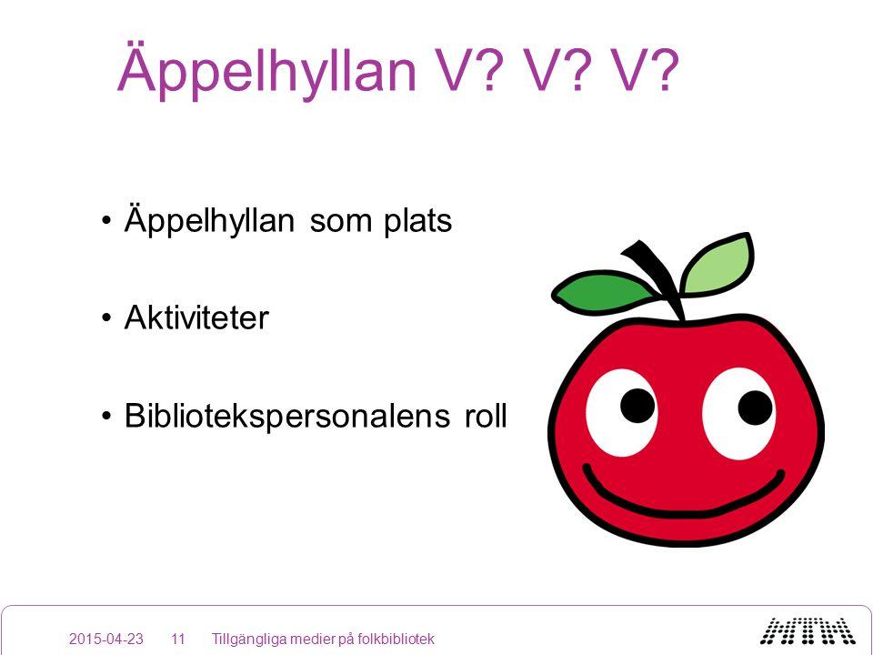 Äppelhyllan V. V. V.
