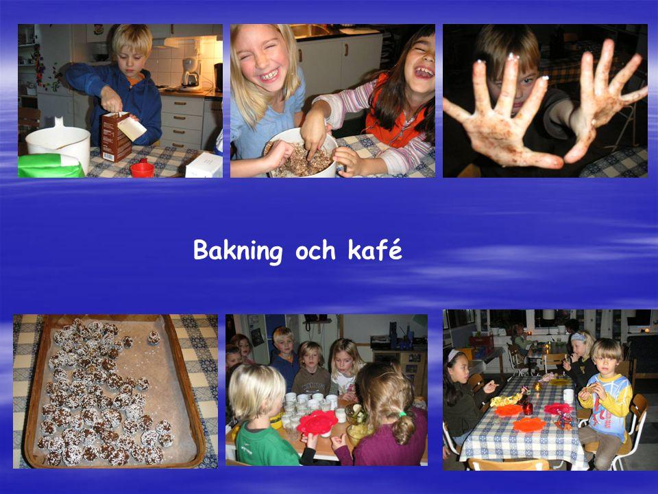 Bakning och kafé