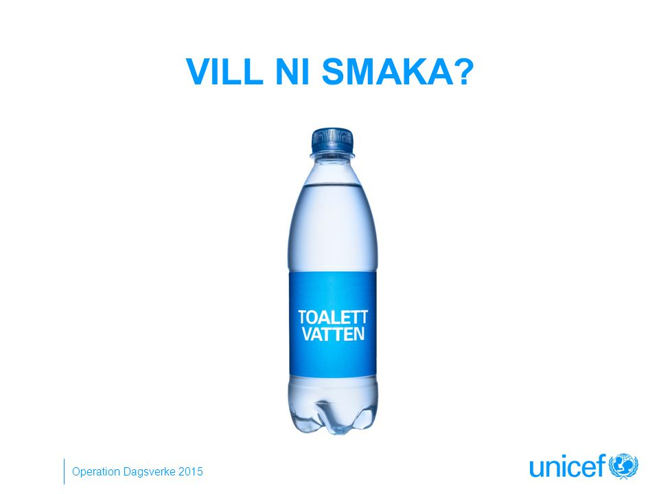 VILL NI SMAKA Operation Dagsverke 2015