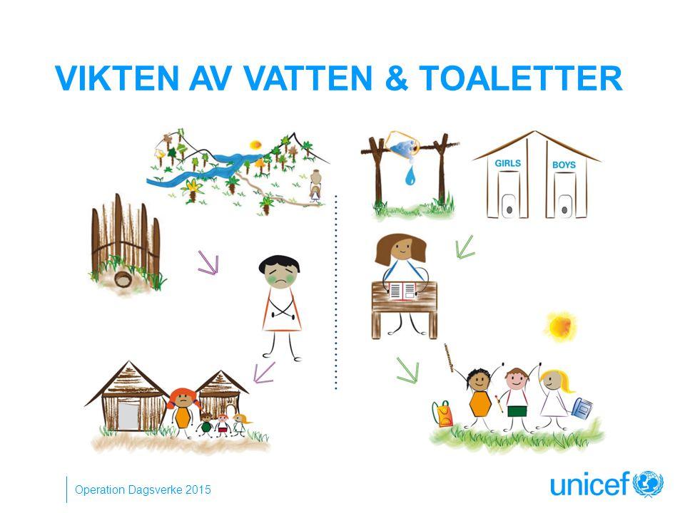 VIKTEN AV VATTEN & TOALETTER Operation Dagsverke 2015