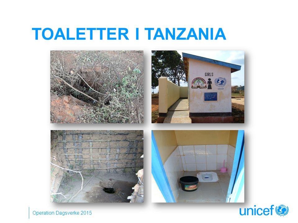 TOALETTER I TANZANIA Operation Dagsverke 2015