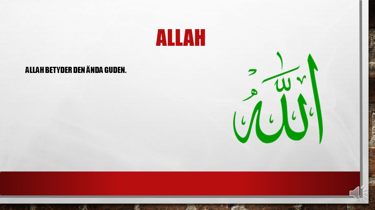 KORANEN KORANEN ÄR ISLAMS VIKTIGASTE BOK. I DEN KAN MAN LÄSA OM ISLAMS TRO OCH REGLER. KORANEN ÄR SKRIVEN PÅ ARABISKA.