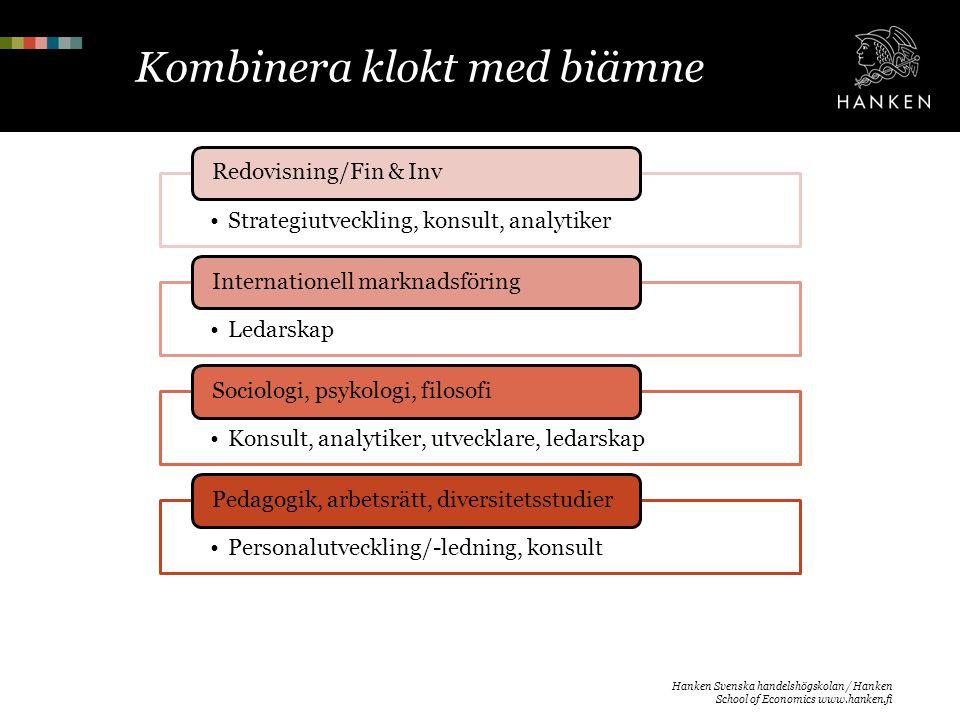 Erfarenheter »Jonna Stenman, alumn, privatföretagare »Linda Danskanen, studerande »Nadia Söderling, studerande »Villiam Virkkunen, studerande »Tack.