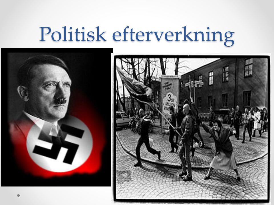 Politisk efterverkning