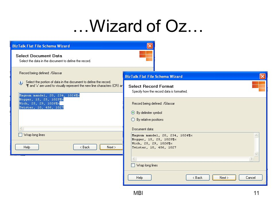 MBl11 …Wizard of Oz…