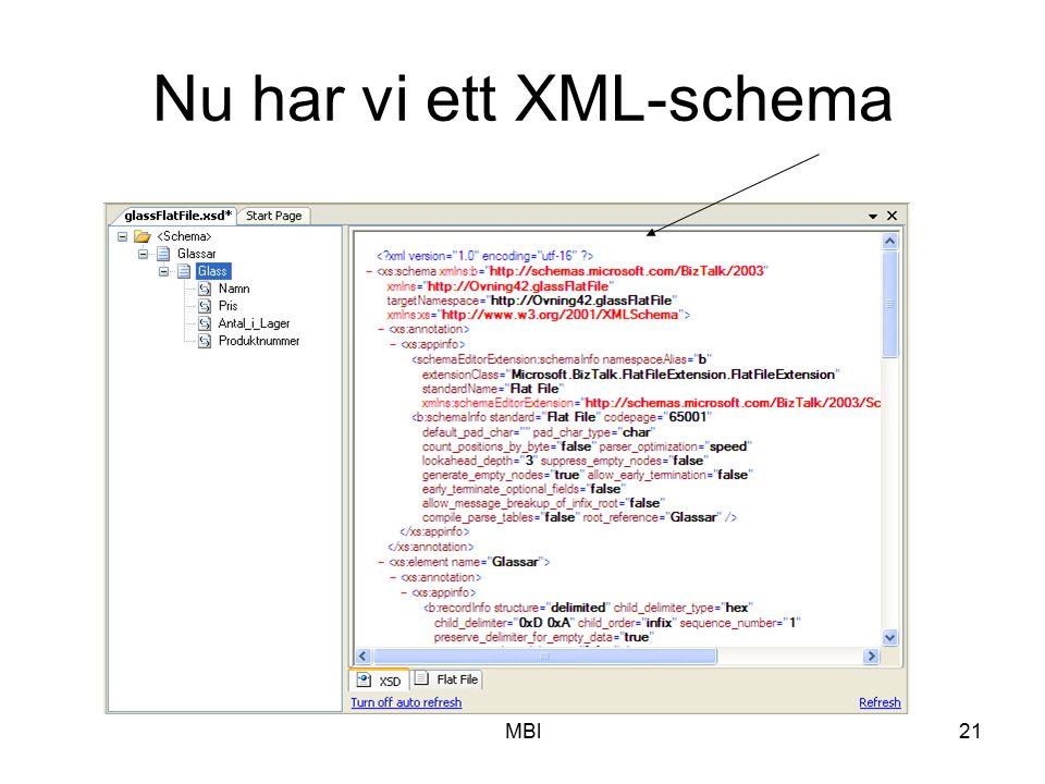MBl21 Nu har vi ett XML-schema