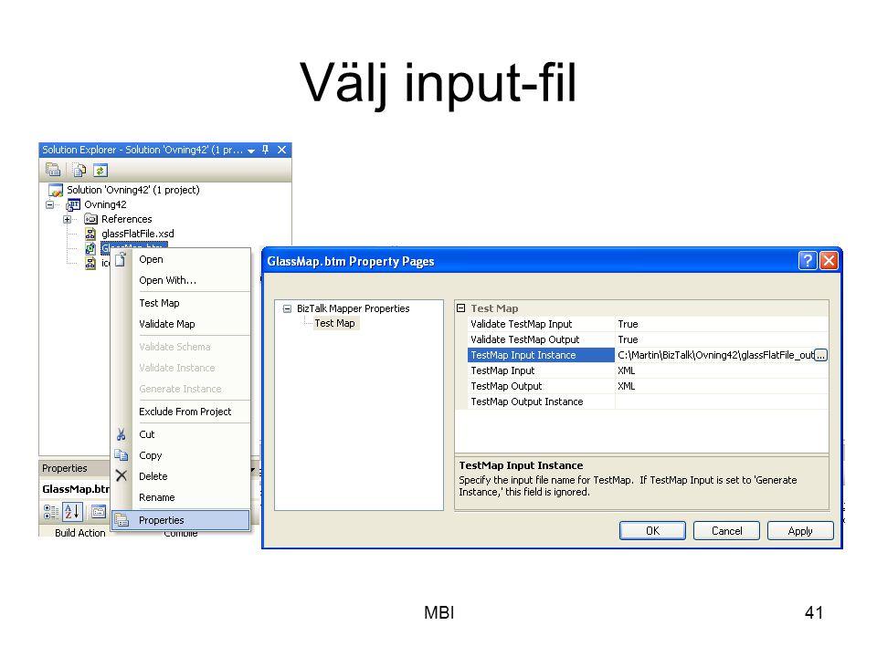 MBl41 Välj input-fil