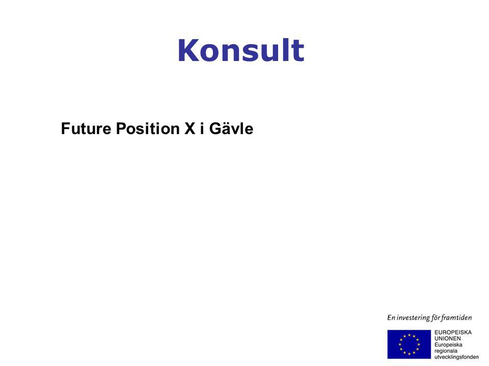 Konsult Future Position X i Gävle