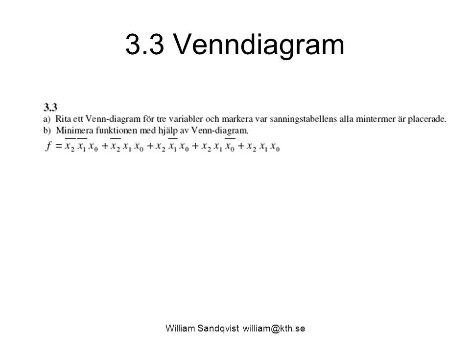 3.3 Venndiagram William Sandqvist william@kth.se