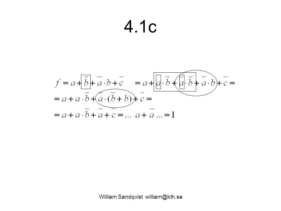 4.1c William Sandqvist william@kth.se