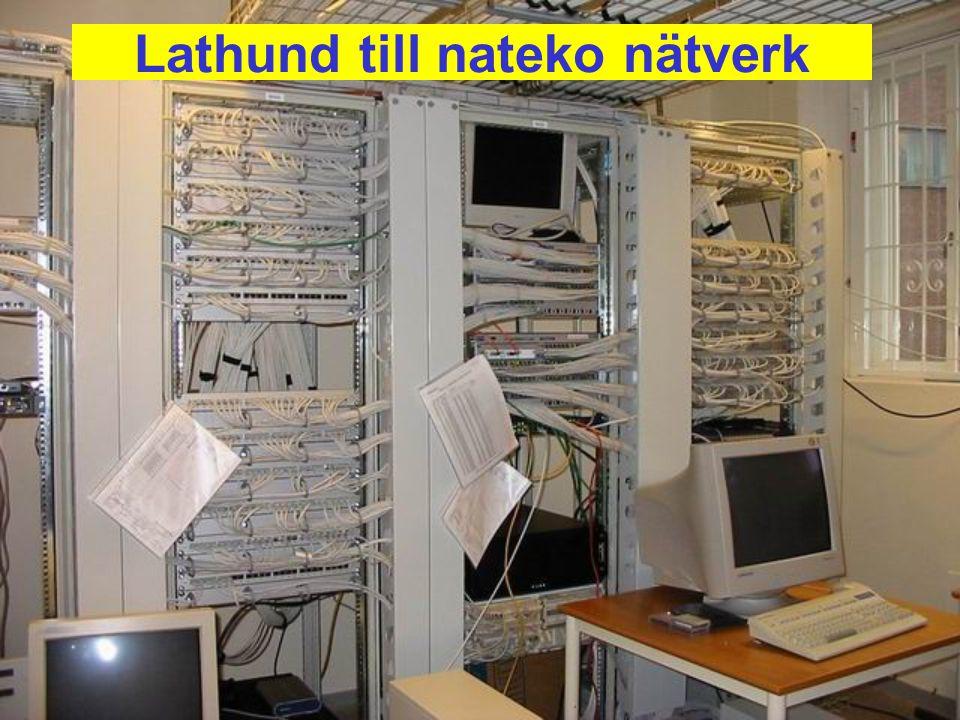 Lathund till nateko nätverk