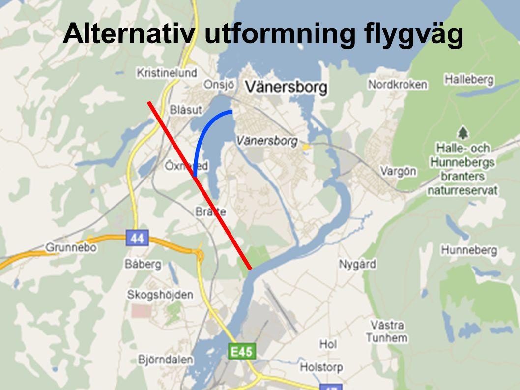 FFAB Underlag för samråd juni 201110 Alternativ utformning flygväg