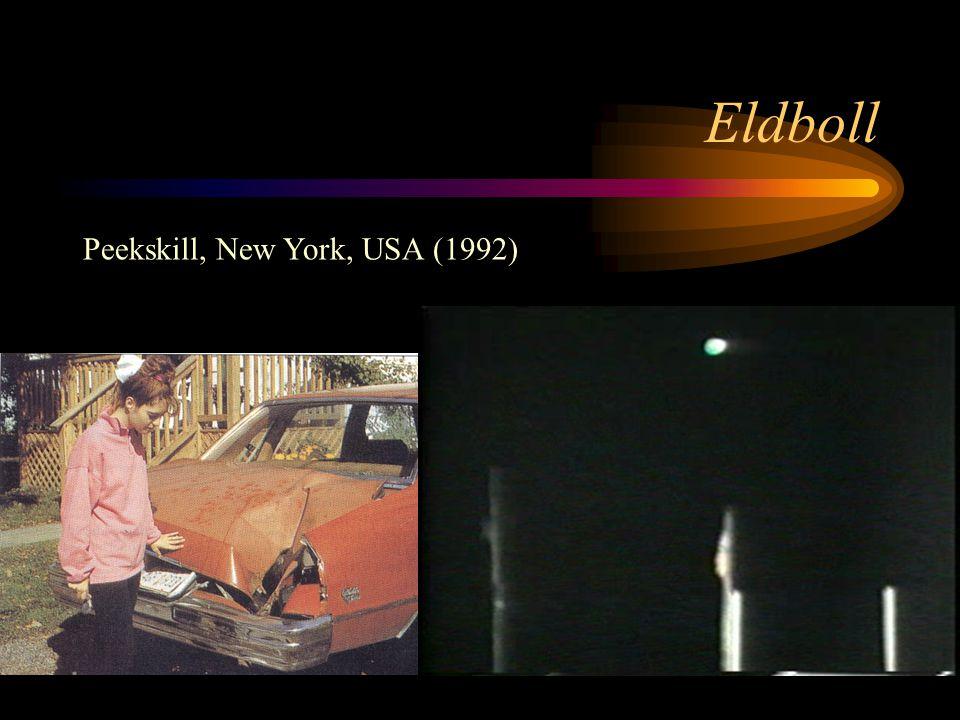 Eldboll Peekskill, New York, USA (1992)