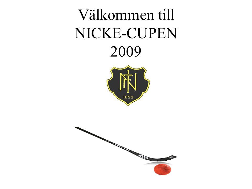 Välkommen till NICKE-CUPEN 2009