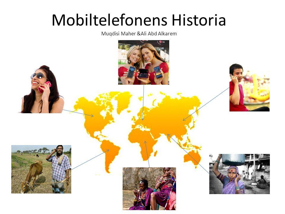 Mobiltelefonens Historia Muqdisi Maher &Ali Abd Alkarem