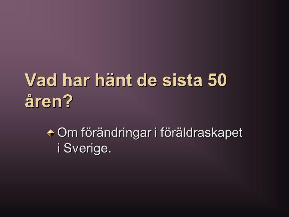 Ett föräldraskap som bygger på belöningssystem är något som kanske inte alla svenska föräldrar ställer sig bakom när det rör universella insatser.