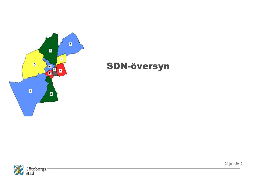 21 juni 2015 SDN-översyn