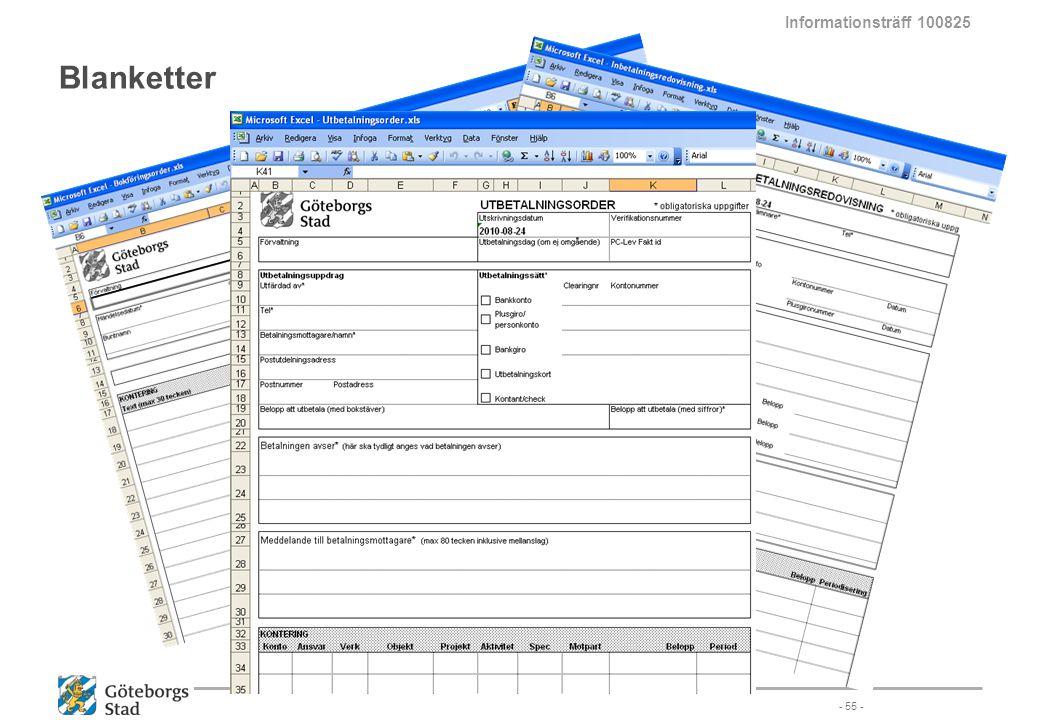 Blanketter - 55 - Informationsträff 100825