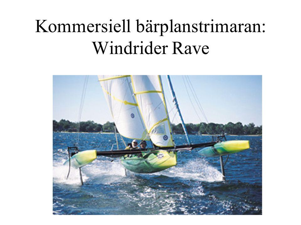 Kommersiell bärplanstrimaran: Windrider Rave