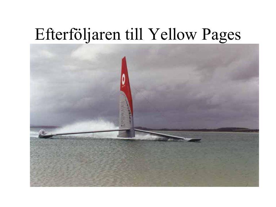 Efterföljaren till Yellow Pages