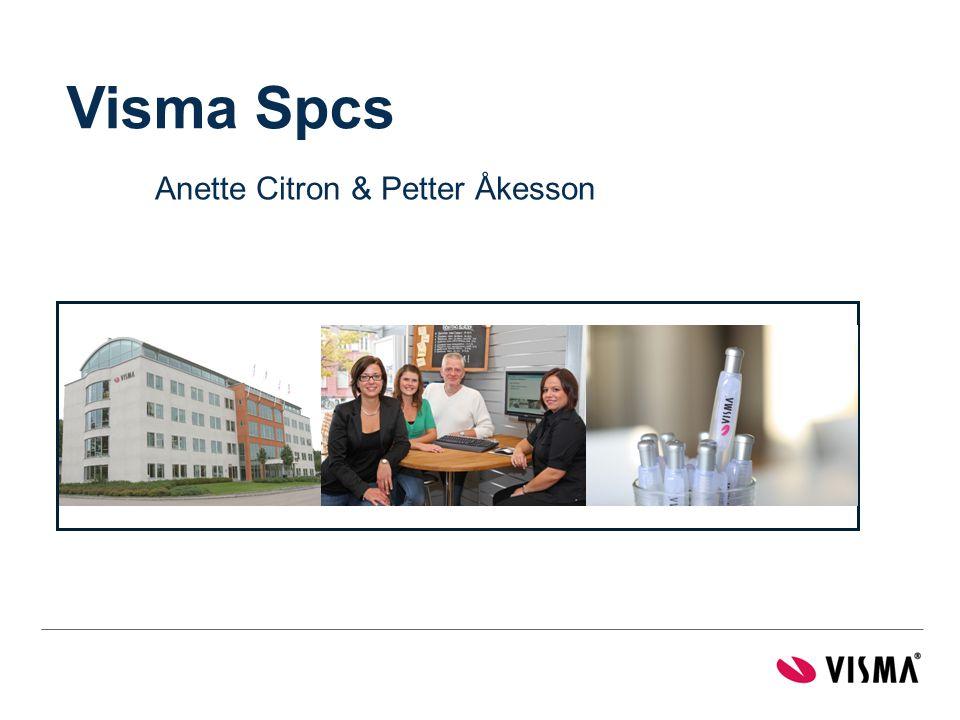 Visma Spcs Anette Citron & Petter Åkesson